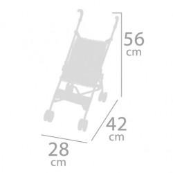 Poussette pour Poupées Pliante Chaise De Cuevas Toys 90093 | De Cuevas Toys