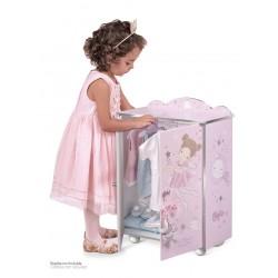 Armoire pour Poupées en Bois Magic María DeCuevas Toys 55234 | DeCuevas Toys