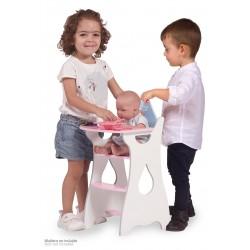 Chaise Haute pour Poupées en Bois Martín DeCuevas Toys 55429 | DeCuevas Toys