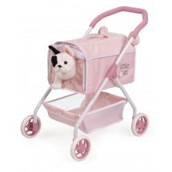Poussette pour Poupées Ma Première Poussette Petits Animaux Little Pet DeCuevas Toys 86139