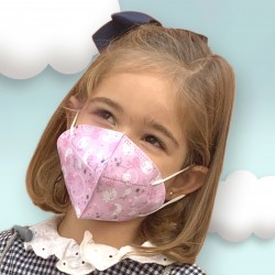 Masque hygiénique réutilisable Enfants Magic María 105.10001 | DeCuevas Toys