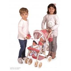Poussette pour Poupées Chaise Gémellaire Pliante Martina DeCuevas Toys 90333 | DeCuevas Toys