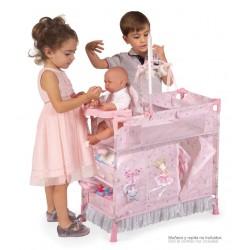 Armoire Table à Langer de Poupées Pliable Magic María DeCuevas Toys 53034 | DeCuevas Toys