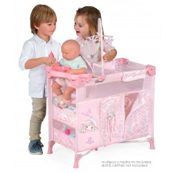 Armoire avec Table à Langer pour Poupées Pliante Ocean Fantasy DeCuevas Toys 53041 | DeCuevas Toys
