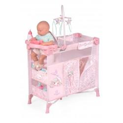 Armoire avec Table à Langer pour Poupées Pliante Ocean Fantasy DeCuevas Toys 53041