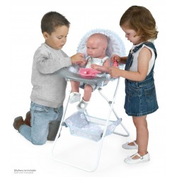 Chaise Haute Pliante de Poupée Martín DeCuevas Toys 53229 | DeCuevas Toys