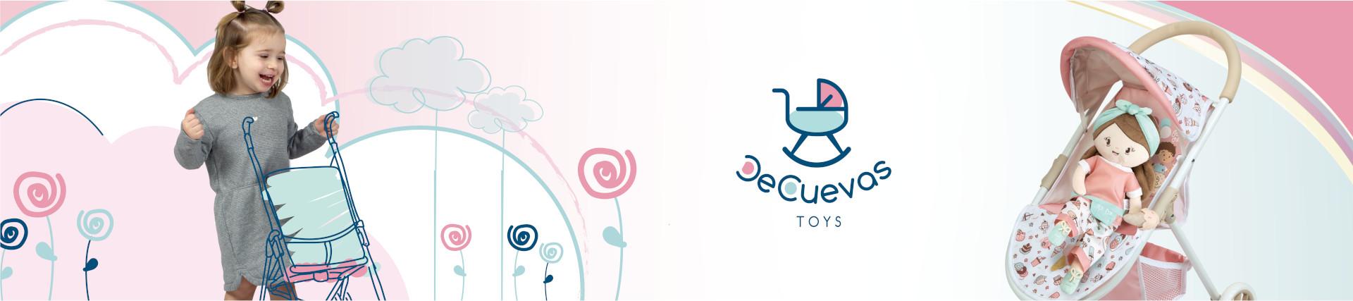 Poussettes pour poupées   DeCuevas Toys